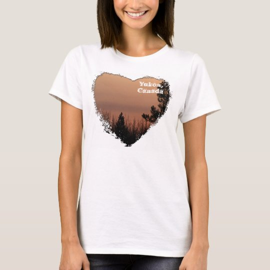 Tree Family; Yukon Territory Souvenir T-Shirt