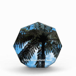 Tree Fern Acrylic Award