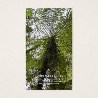 Tree Fern Business Card