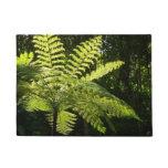 Tree Fern in the Rainforest Doormat