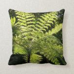 Tree Fern in the Rainforest Pillow