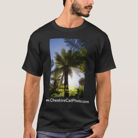 Tree Ferns Golden Gate Park California Products T-Shirt
