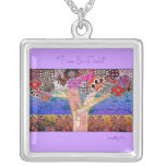 Tree & Field Necklace Lavender
