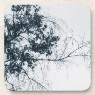 Tree Fingers (Blue) Coaster