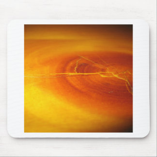 Tree Fire Rings Mouse Pad