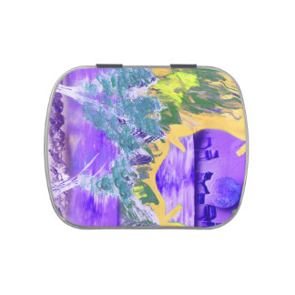tree flame sky shield invert planet spacepainting candy tins