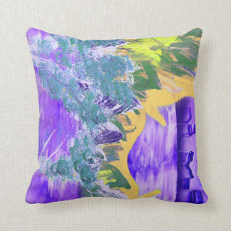 tree flame sky shield invert planet spacepainting pillow