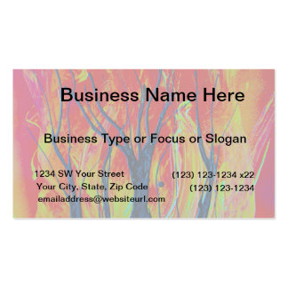 tree flame spraypainting business card