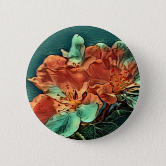 Tree Flowers Button