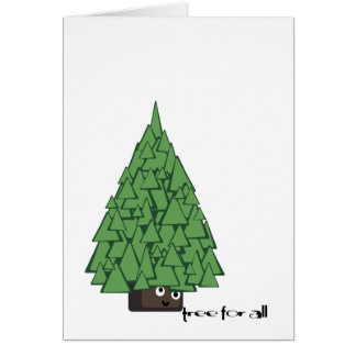 tree for all greetings! greeting card