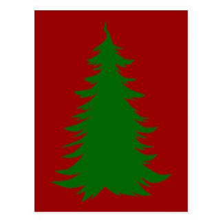 Tree for Christmas Postcard