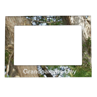 Tree for  Grandparents on Their Day Magnetic Photo Frame