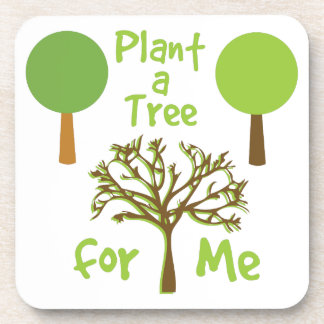 Tree For Me Beverage Coaster
