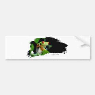 Tree Frog 01 Car Bumper Sticker