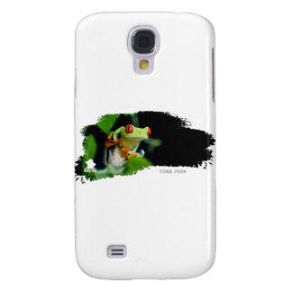 Tree Frog 01 Galaxy S4 Cover