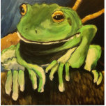 Tree Frog Acrylic Cut Out