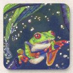 Tree Frog Beverage Coasters