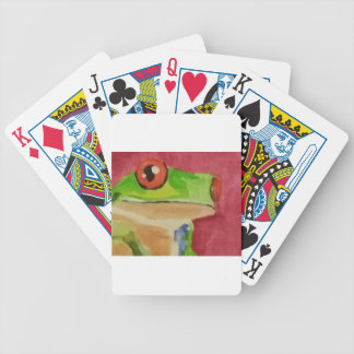 Tree Frog Bicycle Playing Cards