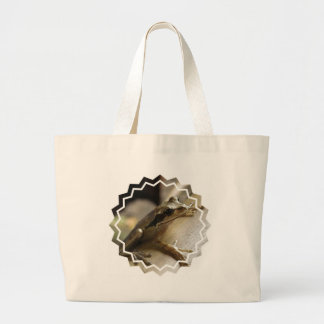 Tree Frog Canvas Tote Bag