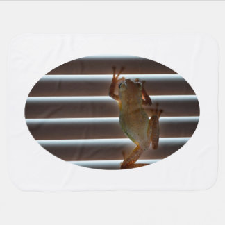 tree frog climbing blinds neat animal photo swaddle blanket