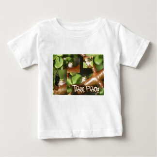 Tree Frog Collage, same frog different poses Baby T-Shirt