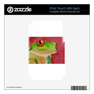 Tree Frog Decals For iPod Touch 4G