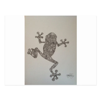 Tree Frog design Postcard