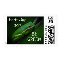 Tree Frog Earth Day Postage Stamps