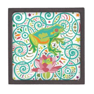 Tree Frog Jewelry Box