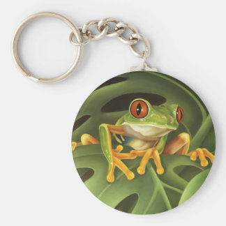 Tree Frog Key Chain