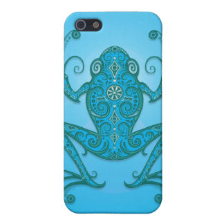Tree Frog – light blue iPhone 5 Cases