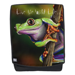 Tree Frog - Live the Wild Life / Backpack