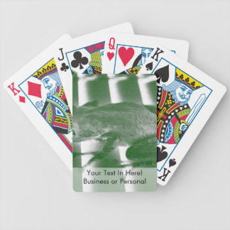 tree frog looking left green sketch animal design bicycle playing cards