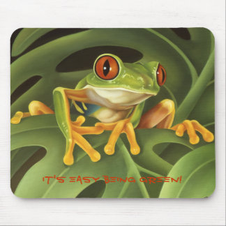 Tree Frog Mouse Pad