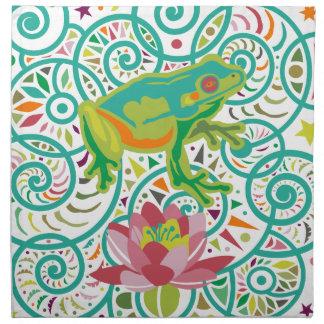 Tree Frog Napkin