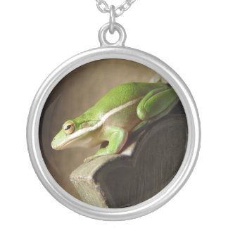 Tree Frog, Necklace