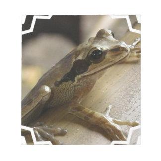 Tree Frog Notepad