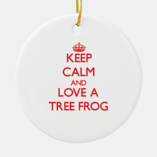 Tree Frog Ornament