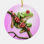 Tree Frog Ornament