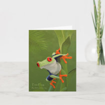 Tree Frog Painting Note Card