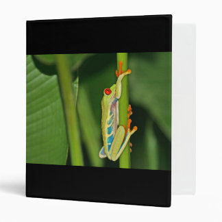 Tree Frog Photo 3 Ring Binders