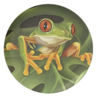 Tree Frog Plate