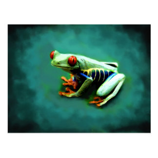 Tree Frog Portrait Postcards