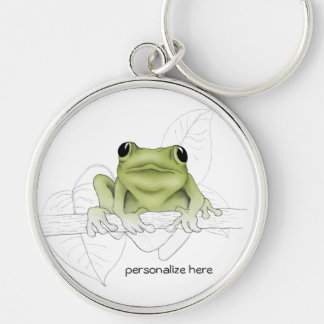 Tree Frog, Spring Peeper, or Cricket Frog Keychain
