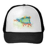 Tree Frog Whimsical Green Trucker Hat