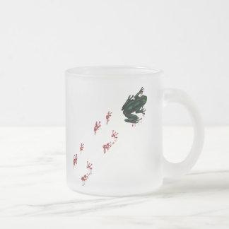 Tree Frog with Bloody Tracks Mug
