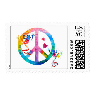 Tree Frogs 4 Peace Postage