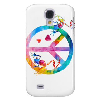 Tree Frogs 4 Peace Samsung S4 Case