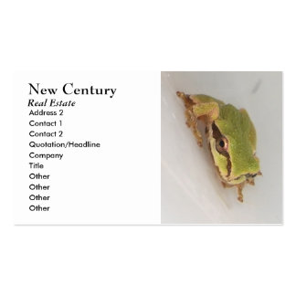 Tree Frogs Business Card