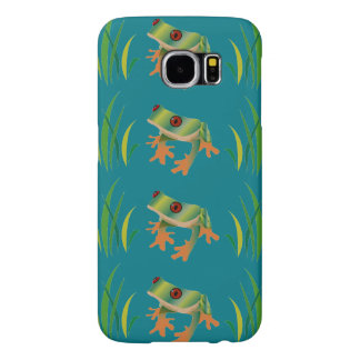 Tree Frogs on Samsung Galaxy S6 Barely There Case